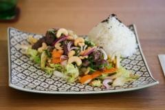Wok Gemüse mit BIO-Rindfleisch